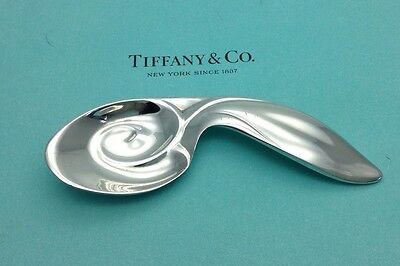 Tiffany & Co. Vintage Sterling Silver Rabbit Baby Christening Spoon