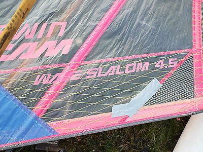 4.5m windsurfing Neil Pryde sail and mast