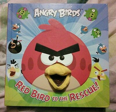 Angry Birds Red Bird To The Rescue~  Hand Puppet Book