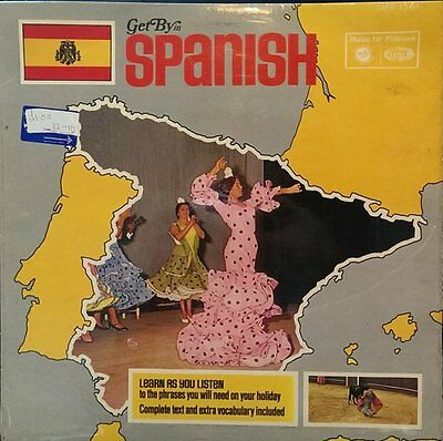 Soundtrack-Get By In Spanish LP-Music For Pleasure, MFP 1361, 1970, 2 Track WITH