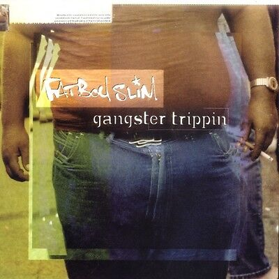 """Fatboy Slim-Gangster Trippin 12""""-Skint, SKINT 39, 1998, Picture Sleeve 3 Track"""