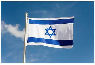 3' x 5' ft Polyester Israeli Flag Israel High Quality Outdoor Indoor