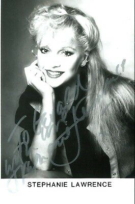 Stephanie Lawrence (Musical Theatre). Genuine Hand Signed Photo.