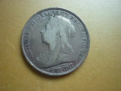 Gt Britain - Good Collectable Lxi Victoria 1896 Crown