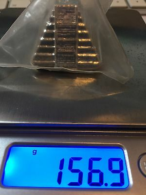 Yeagers Poured Silver 5 oz Aztec Pyramid 999+ Fine Limited Edition