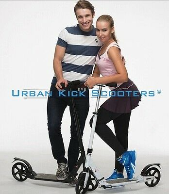 Adult and Kids all round easy use & commute kick/Push Scooter (many colours)
