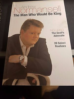 Andrew Normansell The Man Who Would Be King Magic Book