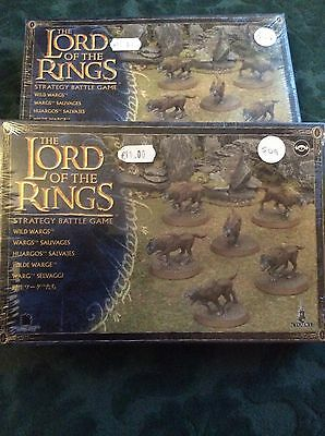 Games Workshop 99121499025 - Lord of the Rings  - Wild Wargs x 2 sets
