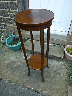Antique/Vintage Mahogany Plant Stand