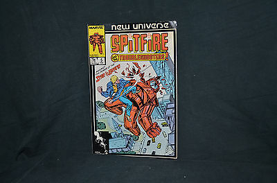 Marvel Comic Book - New Universe Spitfire and the Troubleshooters - Issue #5