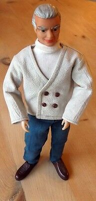 THUNDERBIRDS 1966 Fairylite Jeff Tracy Doll Gerry Anderson Jr21