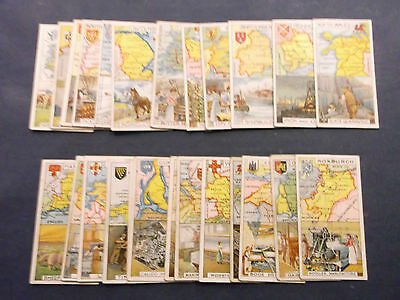 Full Set of 25 Players Counties & Industries ( Numbered ) ( Good - V. Good )1915