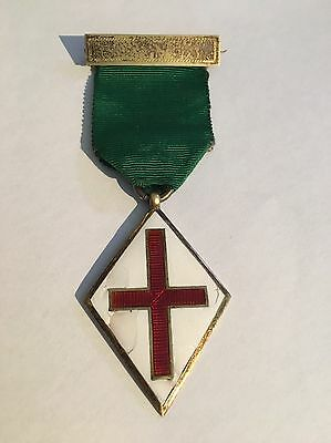 1904 W.J&D Silver Hallmarked Possible Red Cross / VAD enamel Medal Must See?