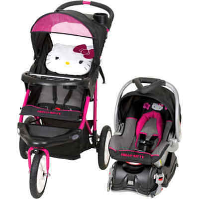 Baby Trend Hello Kitty Jogger Travel System