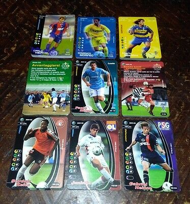 Lotto 125 Cards Football Champions Equipe De France.. 2001/02..2002/03..2003/04