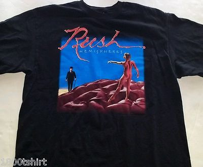 Rush Hemispheres Officially Licensed T Shirt Sizes Small-XL