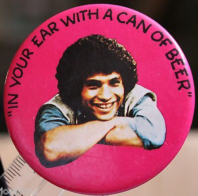 WELCOME BACK KOTTER JUAN EPSTEIN pin button pinback 1976 ROBERT HEGYES