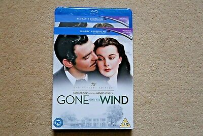 Blu-Ray Gone With The Wind  2 Disc 75Th Anniversary Edition New Sealed Uk Stock