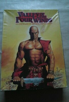 """""""Valley of the Four Winds"""" vintage game by games workshop RARE 1980"""