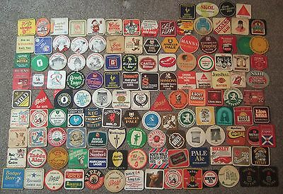 BEER MATS - 125 Different Brewery Mats