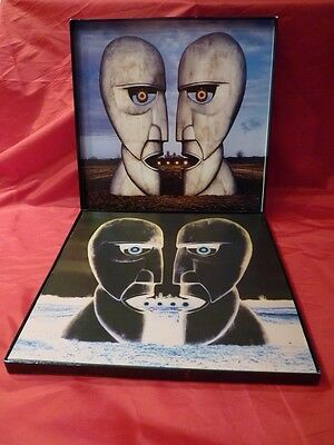 Pink Floyd - The Division Bell- PROMO BOX inedit 8 p. booklet EMI 1994 -CD no LP