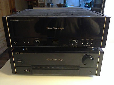 Pioneer Reference Power amp + preamp pre M73 C73 High End - Ampli Haut de Gamme