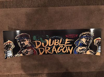 Double Dragon Arcade Marquee Header