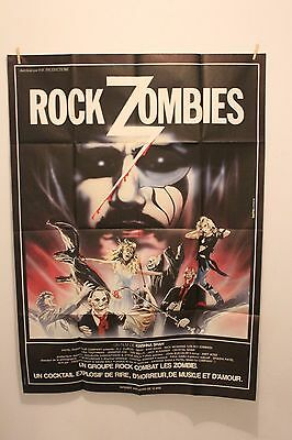 Rock Zombies - Affiche  Originale 120 X 160 Cm