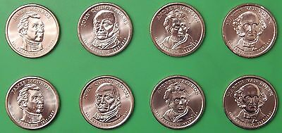 2008 US Presidential Dollar Set 4 P&4 D From Mint Rolls