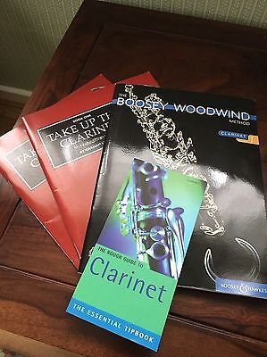Learn To Play The Clarinet - Four Books