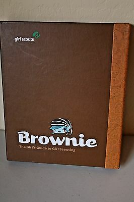 Girl Scouts Brownie Handbook Binder Guide to Girl Scouting - Never Written in