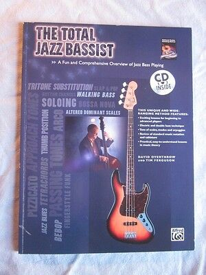 """Jazz Bass Book """"The Total Jazz Bassist"""""""