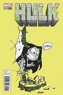 HULK ISSUE 1 - FIRST 1st PRINT SKOTTIE YOUNG VARIANT COVER - MARVEL COMICS NOW!