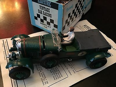 Vintage Scalextric C64 Bentley - Green With Box & Papers