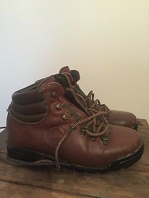 Loveson old school leather walking/hiking boots 39 UK 5 - 6