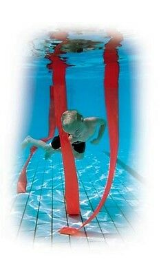 Kids Swimming Pool Slalom Game Swim Practicing Plastic Weighted Strips Set Of 4