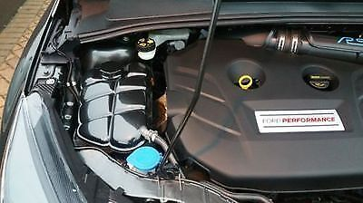 Ford Focus Mk3, Engine Bay Carbon Effect Set,coolant,battery And Fuse Cover