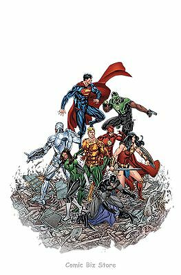 Justice League #15 (2017) 1St Printing Bagged & Boarded Dc Universe Rebirth