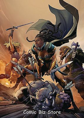 Odyssey Of The Amazons #2 (Of 6) (2017) 1St Printing Dc