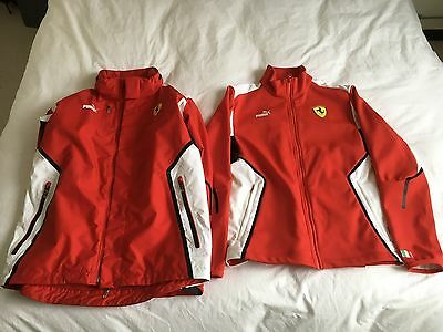 Ferrari Men's All Weather Jacket with detachable Soft Shell, New, Size UK S