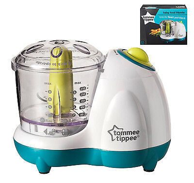Tommee Tippee Explora Baby Toddler Blender Chopper and Food Processors White NEW