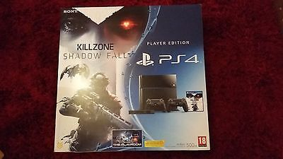 Sony Ps4 500Gb Empty Replacement Box With Inserts & Instructions - No Console