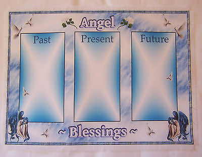 Angel Card, Tarot Card Mat Wiccan, Wicca, crystals divination, Pagan Fairy gift