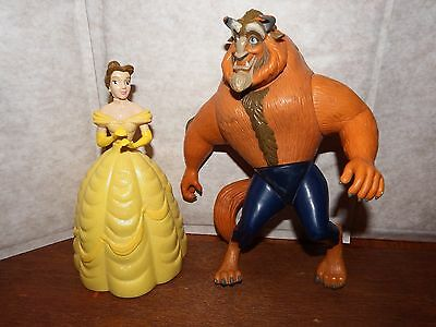 """RARE 10"""" Disney Beauty and the Beast chunky figure toy doll playset Belle"""