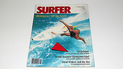 Vintage Original 1984 Surfer Surfing Magazine Surfboard V25#10 Photography Book