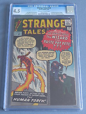 Strange Tales #110 CGC 4.5 (Off-White to White Pages) -1st App of Doctor Strange
