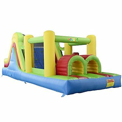 YARD Yard Inflatable Bounce House Bouncer Obstacle Course Super Combo Slide