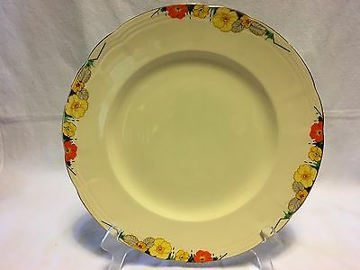 Alfred Meakin Cream And Floral Dinner Plate