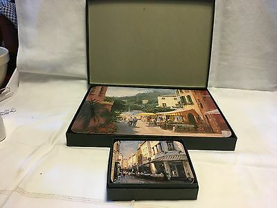 Jason Placemats And Coasters Set Of 6 Boxed European Scenes