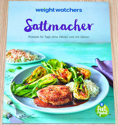 Weight Watchers Kochbuch Sattmacher Dein SmartPoints Plan Programm 2017 NEU